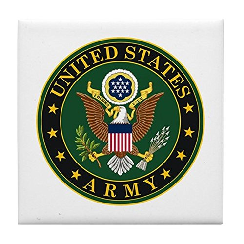 (CafePress - U.S. Army - Tile Coaster, Drink Coaster, Small Trivet)