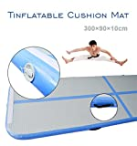 3×0.9m Air Track Floor Home Inflatable Gymnastics Tumbling Mat GYM GoFun Airtrack With Pump