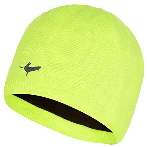 (SEALSKINZ Waterproof Beanie Hi Vis Yellow, S/M)
