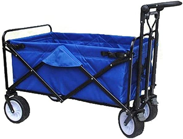 HYL Carrito de Jardín Plegable carro del carro de jardín plegable de jardín playa carro carro