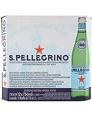 Sanpellegrino sparkling mineral water, 12 x 750ml