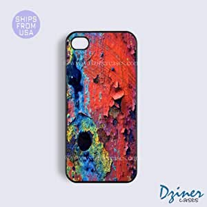 iPhone 5c Tough Case - Colorful Wall Pattern iPhone Cover