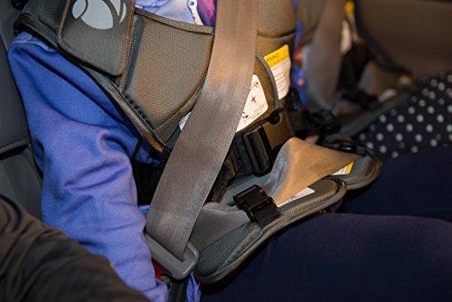 GOKIZ Car Seat Vest, Charcoal, Small by GOKIZ (Image #3)