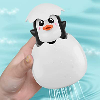 BOLLAER Best Squirting Baby Bath Toys, Fun Egg Hatching Spray Water Bathtub Pool Toys for Toddlers,Boys, Girls, Kids: Toys & Games