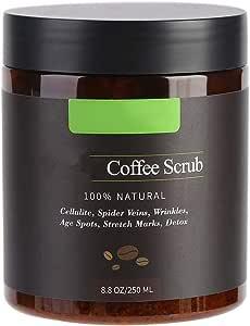Exfoliante Corporal - 100% café arábica Exfoliante Corporal Natural Sales de baño
