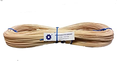 Narrow-Medium 2.75mm Choose Your Size: Superfine 2mm Narrow-Medium 2.75mm Medium 3mm Fine-fine 2.25mm Fine 2.5mm 1000 Hank of Strand Cane