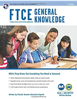 Ftce general knowledge test study guide 2018 2019 exam prep book ftce general knowledge book online ftce teacher certification test prep fandeluxe Choice Image