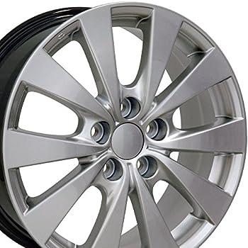 Amazoncom 18x8 Wheel Fits Lexus Toyota  LS 460 Style Hyper
