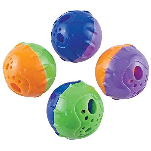 (Westminster Pet Products Jingle Bell Balls Cat Toy)