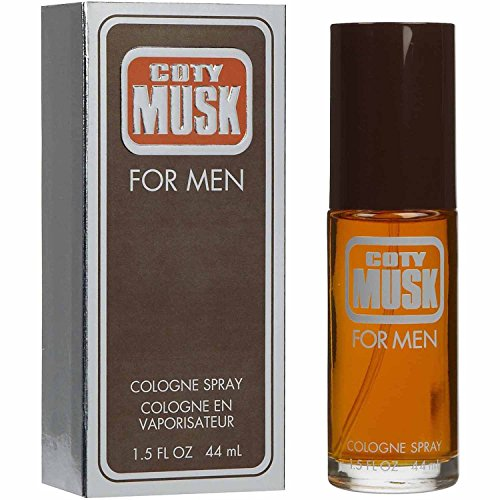Coty Musk Cologne Spray by Coty Musk for MEN, 1.5 Fluid Ounce