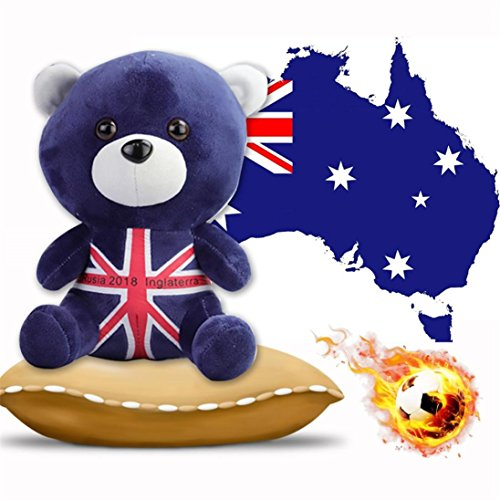 YJYdada Adorable Cartoon Creative National Flag Soft Bear Do