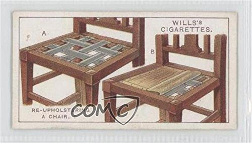 Re-upholstering A Chair (Trading Card) 1927 Wills Household Hints - Tobacco [Base] #8