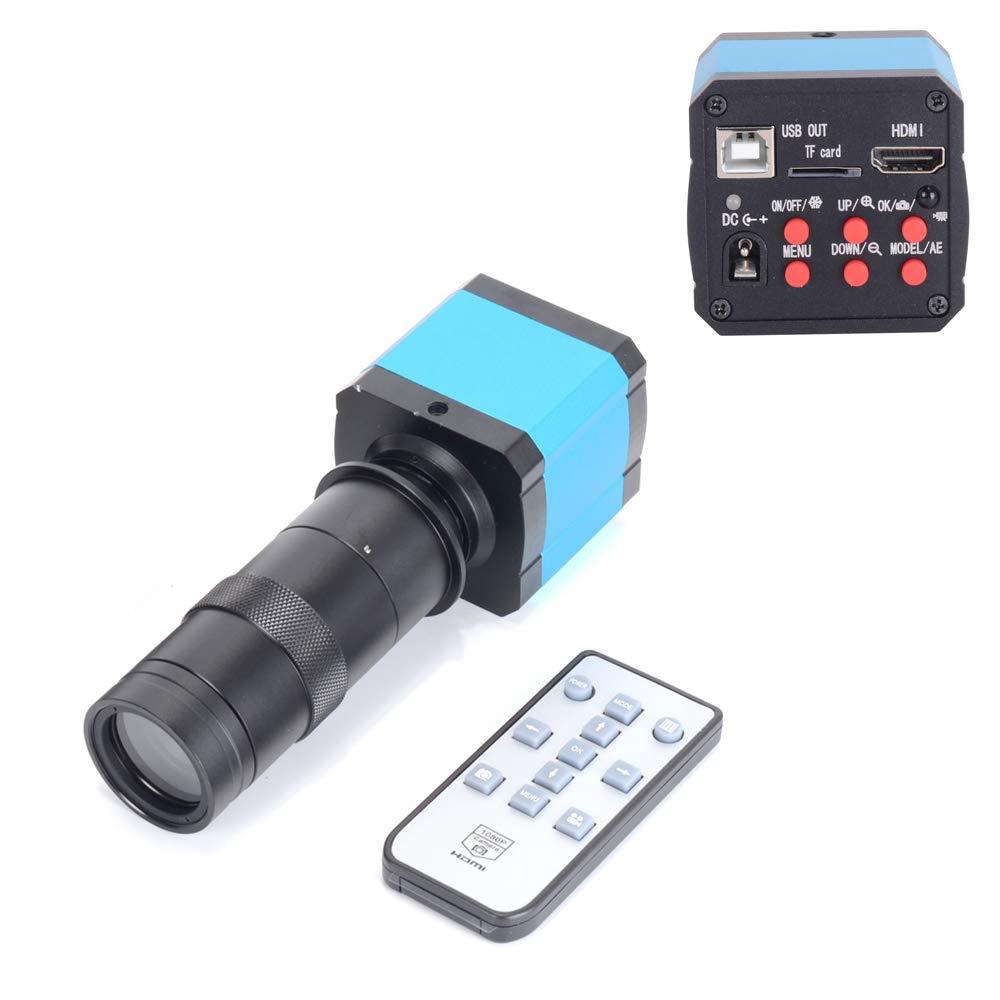【アウトレット☆送料無料】 HAYEAR HAYEAR 14MPフルHD デジタルCマウント顕微鏡カメラ100倍ズームCマウントレンズ HDMI 14MPフルHD HDMI B07K3YXJRF, ゼロクールシステム:85fd9a58 --- a0267596.xsph.ru