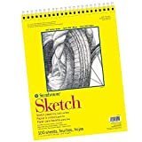 Strathmore Wire Bound, Sketch Pad (300 Series), 100 Sheets, 11x14