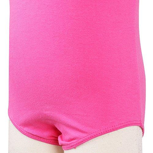 Leotard Girls Classic TFJH Bodysuit Dance B Little Gymnastics Hotpink qTXqFtx