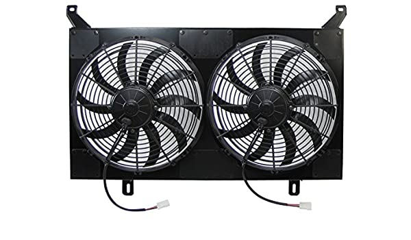 gm fan wiring amazon com dual radiator fans w out sensors wiring for 1967 72  dual radiator fans w out sensors wiring