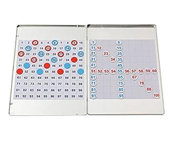 Betzold 87275 - Mathe-Set Rechnen Hunderterfeld Rechenbox - Magnet ...