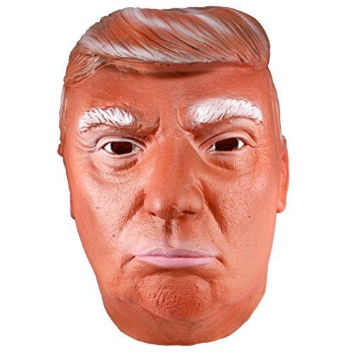 Orange Swamp Monster Donald Trump Latex Mask (Swamp Monster Costume)