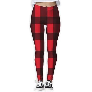 ea4cb02171fbb TO-JP New Yoga Leggings, Buffalo Plaid Cool 3D Printed Skinny Pants Yoga  Jogger Sweatpants, Full Print at Amazon Women's Clothing store: