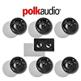 Polk Audio 80 F/X-LS 7.0-Ch Vanishing Series in-Ceiling/in-Wall Home Speaker System (80-F/X-LS + 255C-RT)