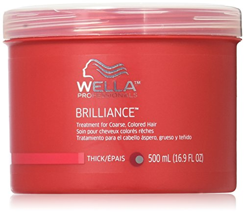 Wella Brilliance Treatment for Coarse Colored Hair, 16.9 Ounce