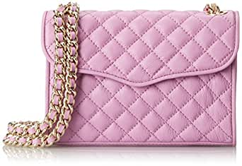 Rebecca Minkoff Mini Quilted Affair Cross-Body Bag,Freesia,One Size