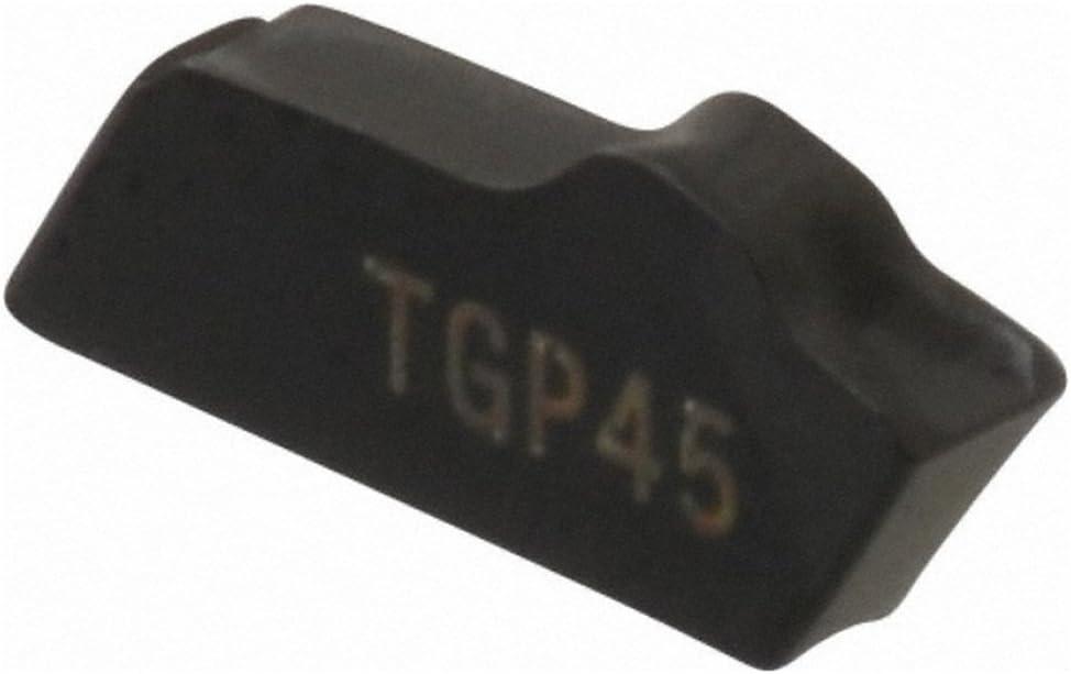 TiCN//Al2O3 Coated 0.088 Cutting Width 150.102.25 16 TGP45 Grade Neutral Lead Angle Carbide Cutoff Insert 0.006 Cnr Rad