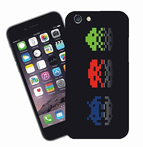Space Invaders - This cover will fit Apple model iPhone 7 (not 7 plus) - By Eclipse Gift Ideas