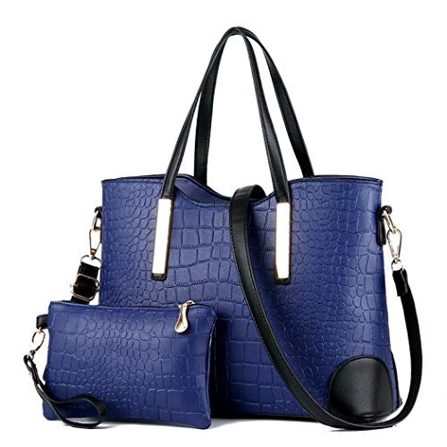 Borsa a donna mano Blue Sabarry Dark qwSRRY