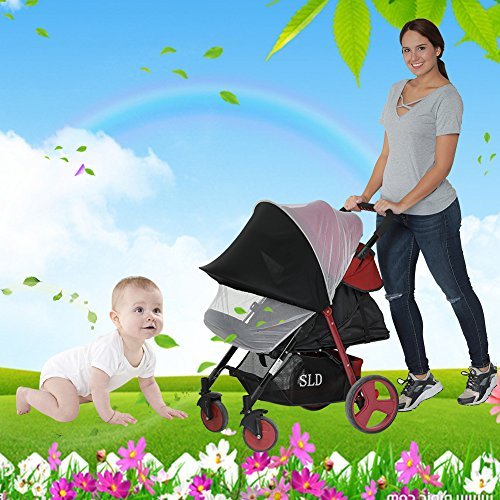 Junda Baby Mosquito Net for Strollers Portable Durable & long lasting Insect mesh Netting by Junda