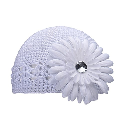 FEITONG(TM) Lovely Cute Baby girls Flower Hats Baby Hats hat winter autumn