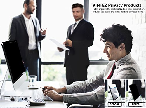 19 Inch - 5:4 Aspect Ratio Computer Privacy Screen Filter for SQUARE Computer Monitor - Anti-Glare - Anti-Scratch Protector Film for Data Confidentiality - PLEASE MEASURE CAREFULLY! by VINTEZ (Image #6)