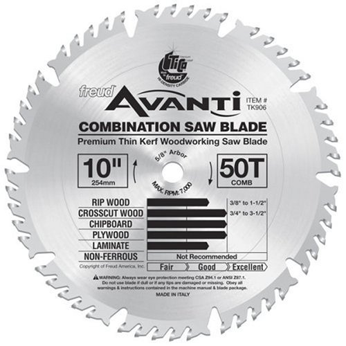 10 freud combination saw blade - 9