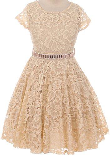 Romantic Bridals Flower Girl Dress - 8