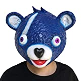 Tools & Hardware : Highpot Funny Animal Head Mask Latex Rubber Cuddle Team Leader Bear Game Mask Halloween Costume (Blue)