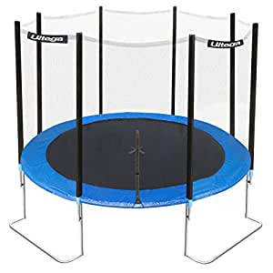 Ultega Jumper Trampoline with Safety Net, 10 ft