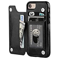 iPhone 8 Wallet Case with Card Holder,OT...