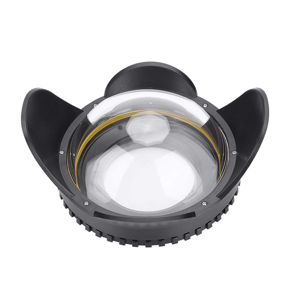 Acouto 67mm 魚眼広角レンズ ドームポートケース シェードカバー 60m 防水 水中ドームポートハウジング   B07L552VS2