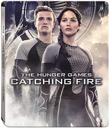 The Hunger Games Catching Fire Steelbook (Blu-ray + DVD + Digital Copy)