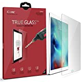 Apple 12.9-inch iPad Pro Screen Protector, iCarez [Tempered Glass] Premium Easy Install with Lifetime Replacement Warranty - Retail Packaging
