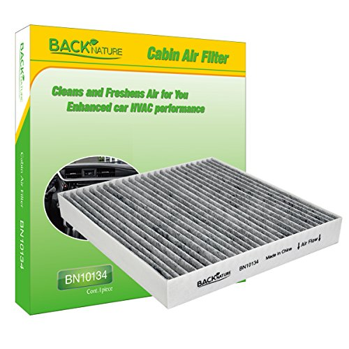 Backnature Cabin Air Filter BN10134 Replacement for Honda & Acura & Accord includes Activated Carbon