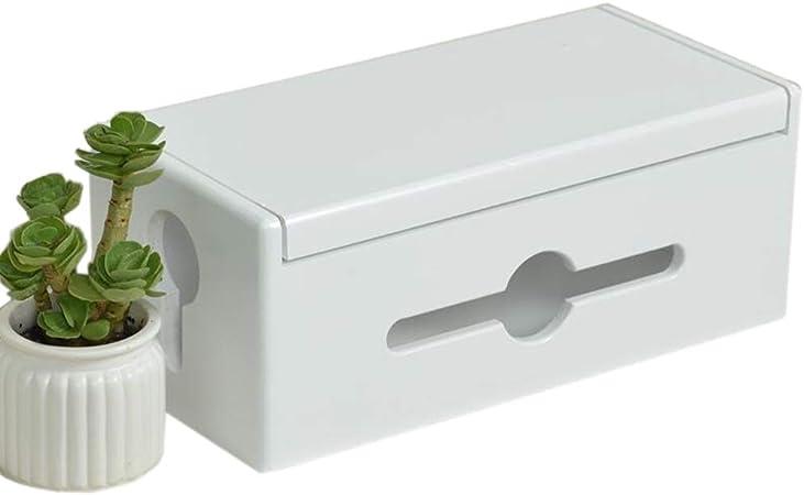 Jcnfa-Estante Caja De Gestión De Cables De Madera De Pino, For Almacenamiento De Línea De Datos De Escritorio, Caja De Tapa Abatible, Y Power Strip Box Solutions, 2 Tamaños, 3 Colores: Amazon.es: