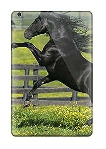 Premium Tpu Horses Running Minimin2 Covers Skin For Ipad Mini