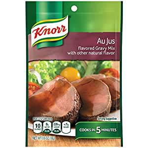 Knorr Au Jus Gravy, .6-Ounce Boxes (Pack of 12)