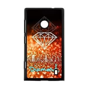 Canting_Good Diamond Custom Case Shell Cover for Nokia Lumia 520