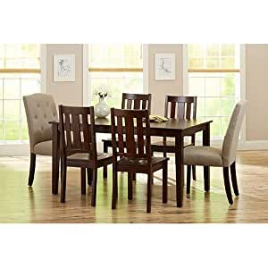 Better Homes And Gardens 6 Piece Dining Set Mocha Beige Better Homes And Gardens 6