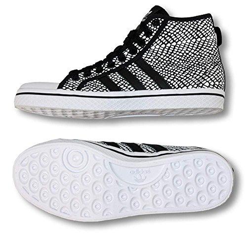 "Adidas Zapatillas ""Honey Stripes Mid W Negro/Blanco 362/3"