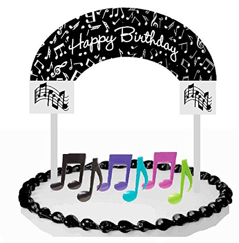 Cake-Food-Cupcake-Desert-Decoration-Banner-Decorating-Topper-Kit-Music-Notes