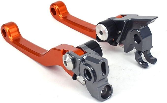 Motorrad Billet Klappbare Kupplungshebel Für 250 300 350 400 450 500 505 525 530 Sx Sxf Xc Xcf Xcfw Exc Xcw Excf Xcfw Smr Xcrw Orange Baumarkt