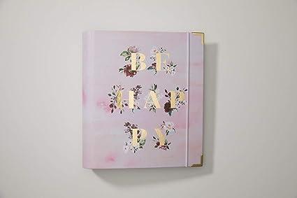 Agenda 2019 con anillas, color rosa acuarela, agenda con ...